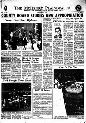 McHenry Plaindealer (McHenry, IL), 16 Aug 1968