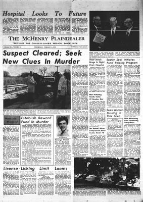 McHenry Plaindealer (McHenry, IL), 4 Feb 1970