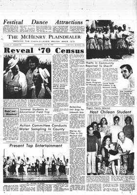 McHenry Plaindealer (McHenry, IL), 15 Jul 1970