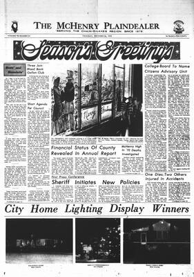 McHenry Plaindealer (McHenry, IL), 24 Dec 1970