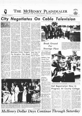 McHenry Plaindealer (McHenry, IL), 6 Aug 1971