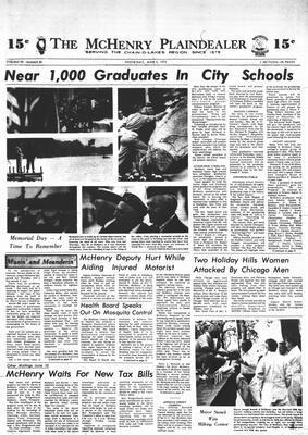 McHenry Plaindealer (McHenry, IL), 5 Jun 1974