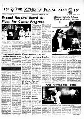 McHenry Plaindealer (McHenry, IL), 5 Feb 1975