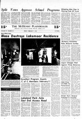 McHenry Plaindealer (McHenry, IL), 7 Feb 1975
