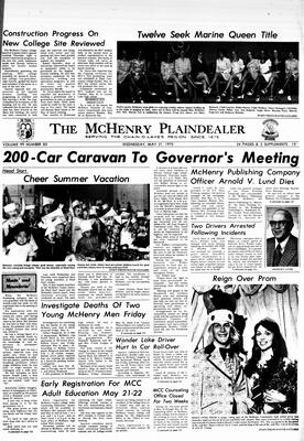 McHenry Plaindealer (McHenry, IL), 21 May 1975