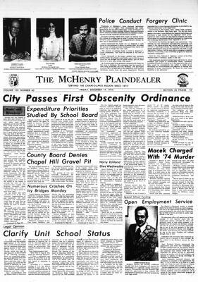 McHenry Plaindealer (McHenry, IL), 19 Dec 1975