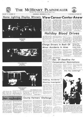 McHenry Plaindealer (McHenry, IL), 22 Dec 1976