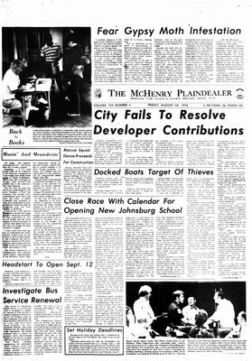 McHenry Plaindealer (McHenry, IL), 25 Aug 1978