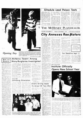 McHenry Plaindealer (McHenry, IL), 1 Sep 1978
