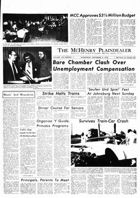 McHenry Plaindealer (McHenry, IL), 6 Sep 1978