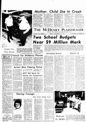 McHenry Plaindealer (McHenry, IL), 15 Sep 1978