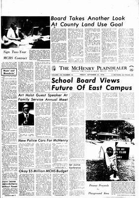McHenry Plaindealer (McHenry, IL), 22 Sep 1978