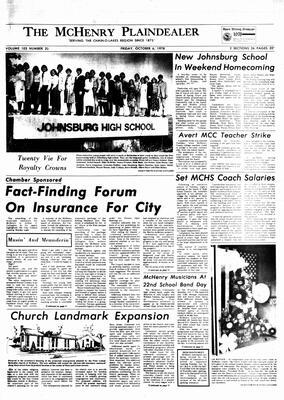 McHenry Plaindealer (McHenry, IL), 6 Oct 1978