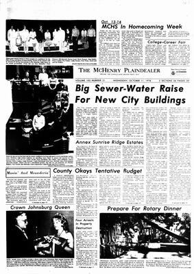 McHenry Plaindealer (McHenry, IL), 11 Oct 1978