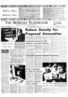 McHenry Plaindealer (McHenry, IL), 27 Oct 1978