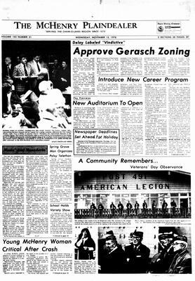 McHenry Plaindealer (McHenry, IL), 15 Nov 1978