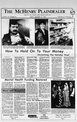 McHenry Plaindealer (McHenry, IL), 10 Dec 1982