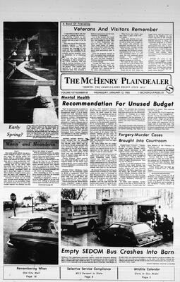 McHenry Plaindealer (McHenry, IL), 12 Jan 1983