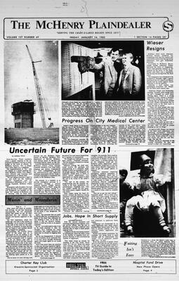 McHenry Plaindealer (McHenry, IL), 14 Jan 1983