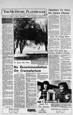 McHenry Plaindealer (McHenry, IL), 11 Feb 1983