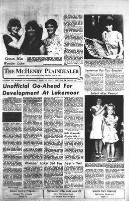 McHenry Plaindealer (McHenry, IL), 29 Jun 1983