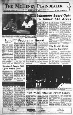 McHenry Plaindealer (McHenry, IL), 22 Jul 1983