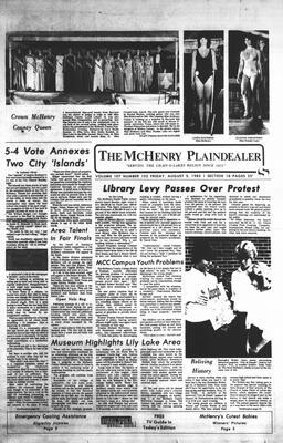 McHenry Plaindealer (McHenry, IL), 5 Aug 1983