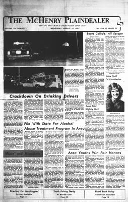 McHenry Plaindealer (McHenry, IL), 10 Aug 1983