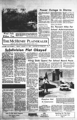 McHenry Plaindealer (McHenry, IL), 19 Aug 1983