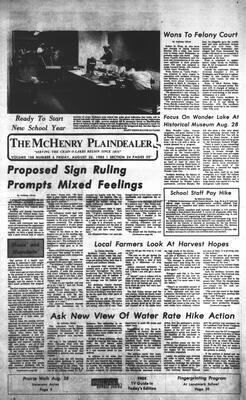 McHenry Plaindealer (McHenry, IL), 26 Aug 1983