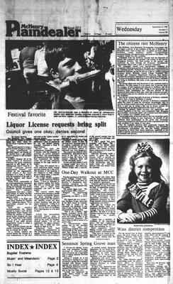 McHenry Plaindealer (McHenry, IL), 14 Sep 1983
