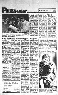 McHenry Plaindealer (McHenry, IL), 21 Sep 1983