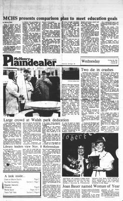 McHenry Plaindealer (McHenry, IL), 26 Oct 1983