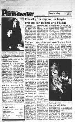 McHenry Plaindealer (McHenry, IL), 3 Nov 1983