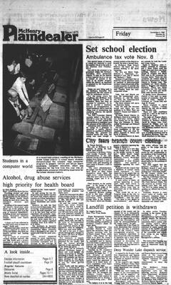 McHenry Plaindealer (McHenry, IL), 4 Nov 1983