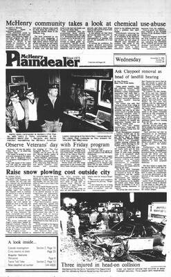 McHenry Plaindealer (McHenry, IL), 9 Nov 1983