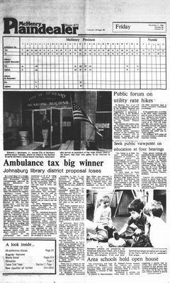 McHenry Plaindealer (McHenry, IL), 11 Nov 1983