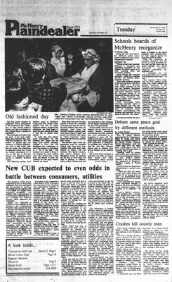 McHenry Plaindealer (McHenry, IL), 22 Nov 1983