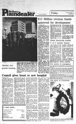 McHenry Plaindealer (McHenry, IL), 25 Nov 1983