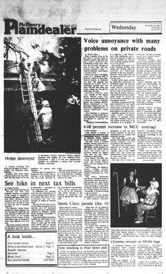 McHenry Plaindealer (McHenry, IL), 30 Nov 1983