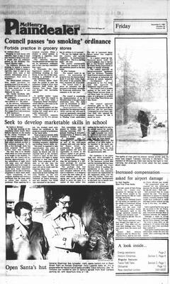 McHenry Plaindealer (McHenry, IL), 9 Dec 1983