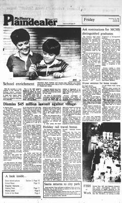 McHenry Plaindealer (McHenry, IL), 16 Dec 1983