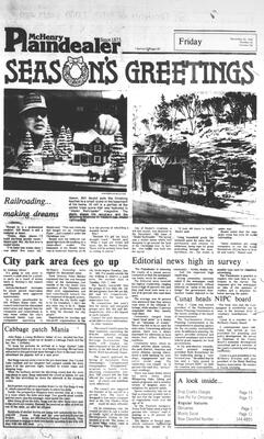 McHenry Plaindealer (McHenry, IL), 23 Dec 1983