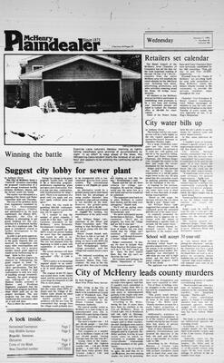 McHenry Plaindealer (McHenry, IL), 11 Jan 1984