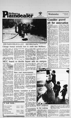McHenry Plaindealer (McHenry, IL), 25 Jan 1984