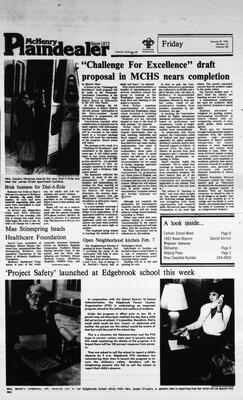McHenry Plaindealer (McHenry, IL), 27 Jan 1984