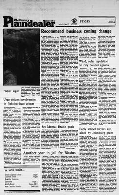 McHenry Plaindealer (McHenry, IL), 3 Feb 1984