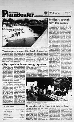 McHenry Plaindealer (McHenry, IL), 8 Feb 1984
