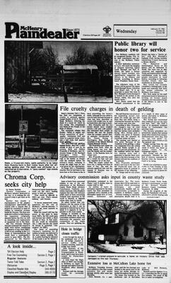 McHenry Plaindealer (McHenry, IL), 15 Feb 1984