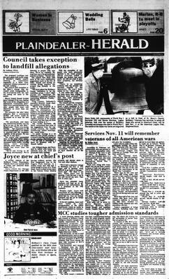McHenry Plaindealer (McHenry, IL), 7 Nov 1984